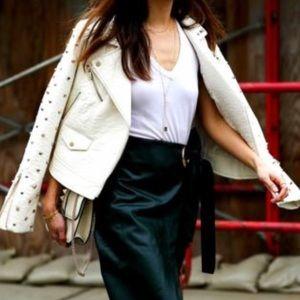 Beautiful Zara studded jacket nwot size small 💖